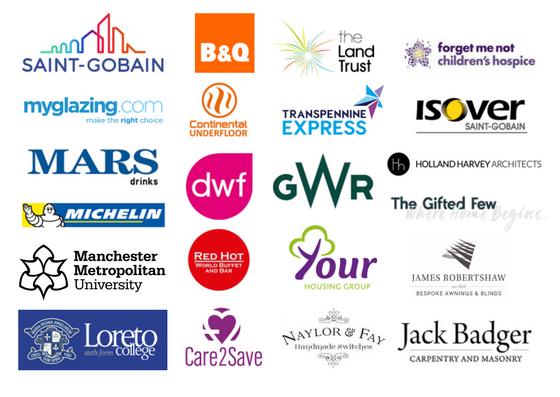 Claire Gamble PR brand experience logos