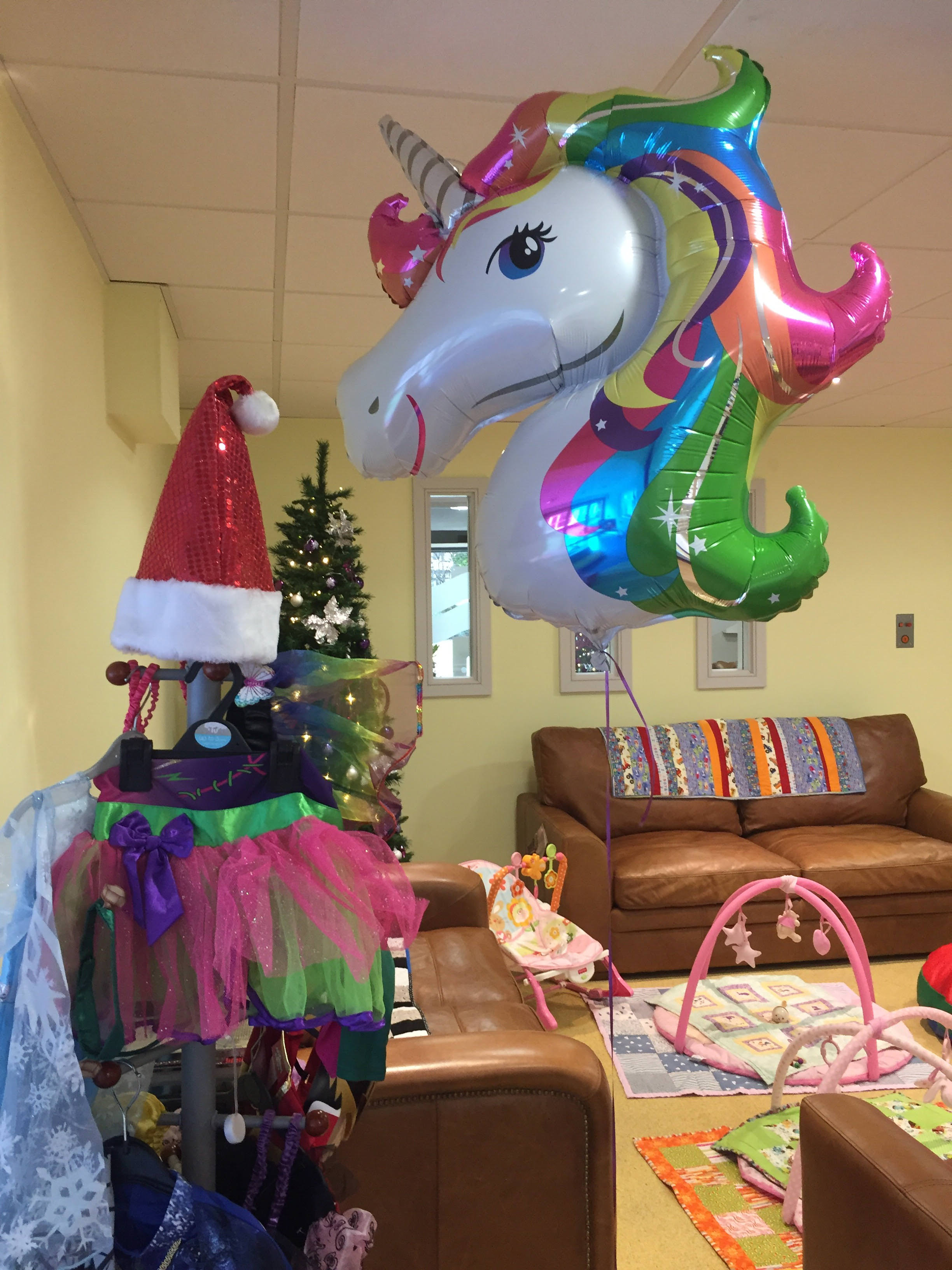 Forget Me Not Children's Hospice in Bury decorated ahead of an important charity PR day when they had a royal visitor