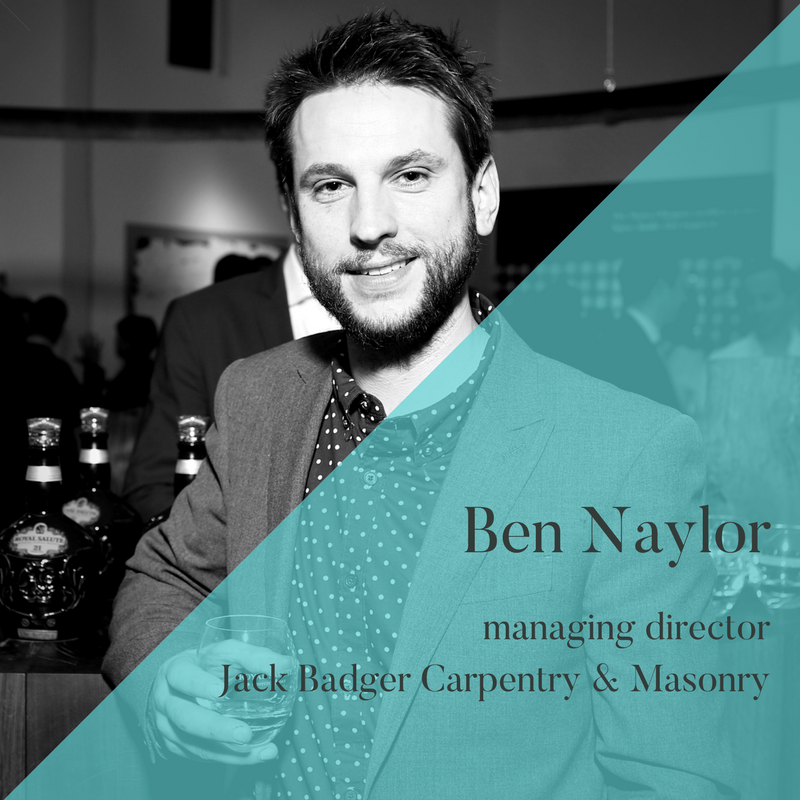 Ben Naylor, MD, Jack Badger, Unhooked Communications client