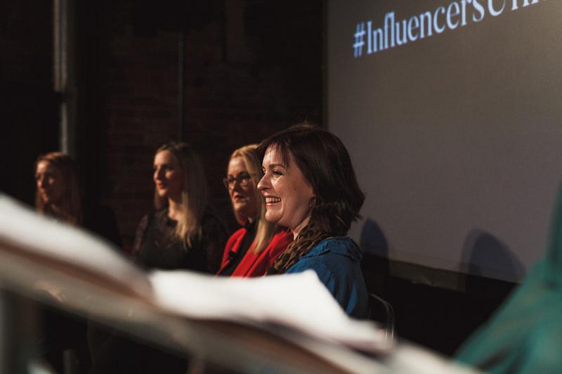 Influencer marketing event - Katie Portman Pouting in Heels - Manchester