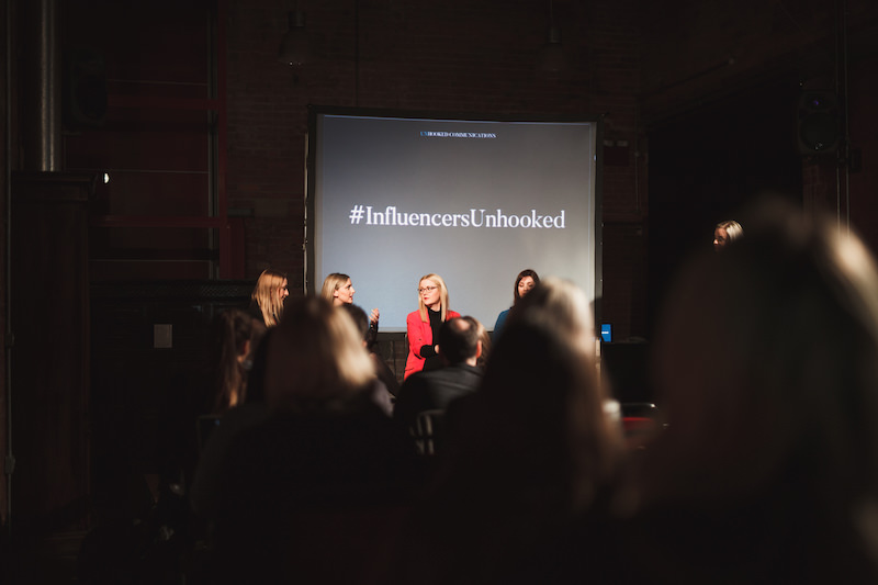 Influencer marketing event at Anthony Burgess Foundation Manchester
