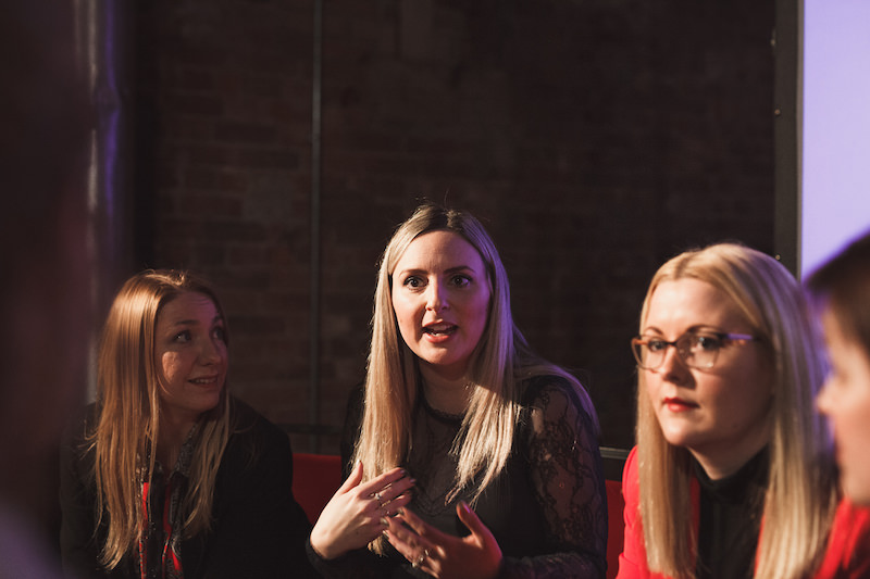 Blogger Holly Wood at Influencers Unhooked Manchester