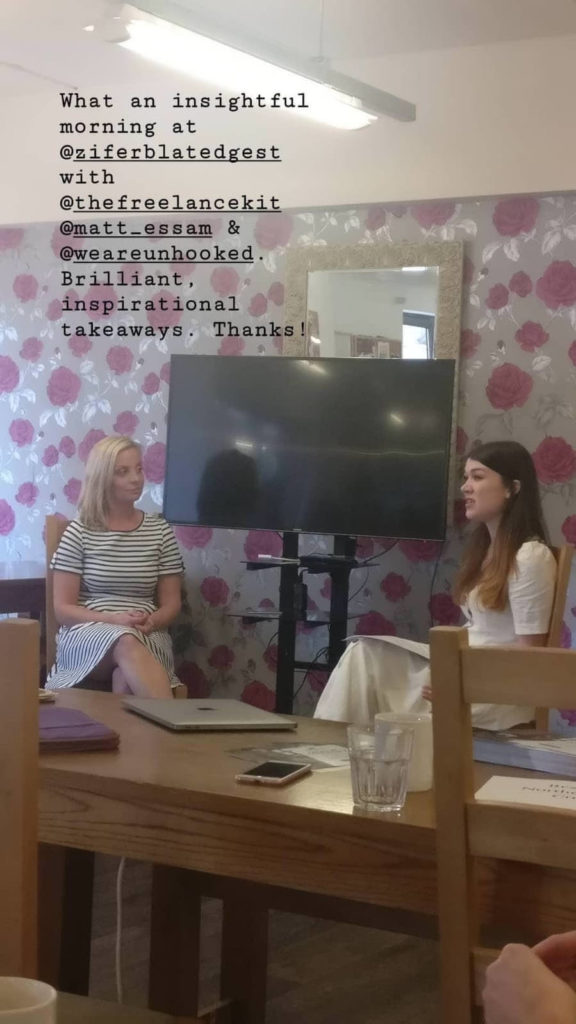 Unhooked Communications MD and Northern Creative Collective founder Claire Gamble speaking to The Freelance Kit founder Nikki Kitchen about freelance finances and getting paid when you're a small business owner