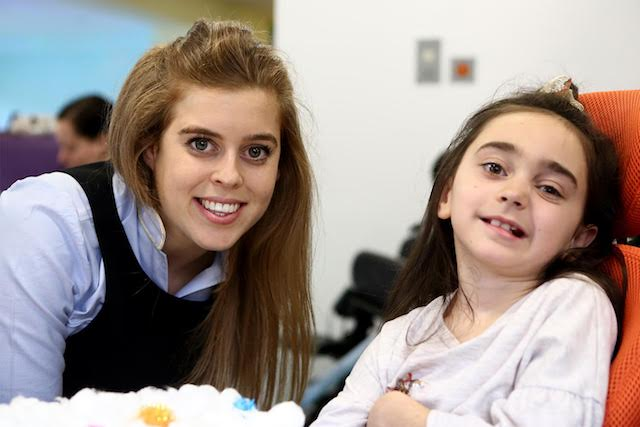 Charity press day with royalty: HRH Princess Beatrice spent time with children and families at Forget Me Not Children's Hospice, Grace's Place, in Radcliffe, Bury (photo credit Mask Creative)
