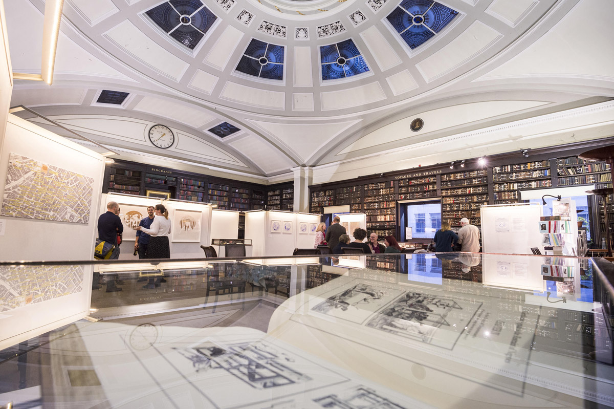 Portico Library by Jill Jennings - Manchester PR and marketing event venue