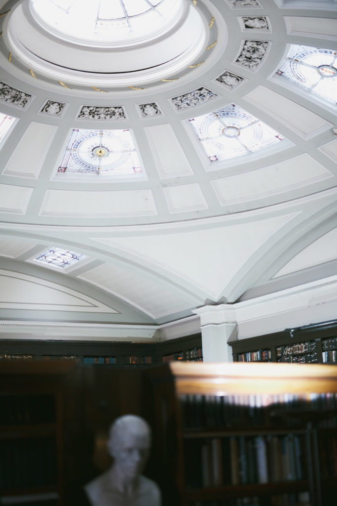 Make a PR and marketing event Instagrammable by choosing a beautiful venue - Portico Library in Manchester