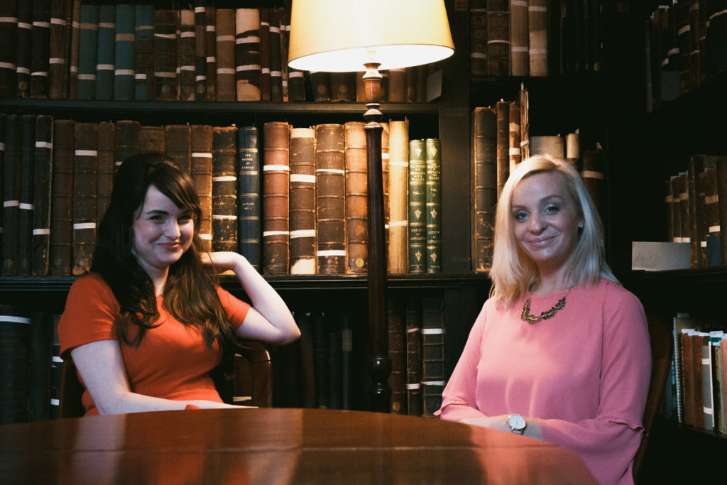 Unhooked Communications MD Claire Gamble with Sara Tasker Me & Orla