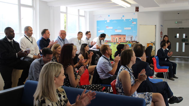 Saint-Gobain and Barnardo's event to celebrate young care leavers completing their construction training