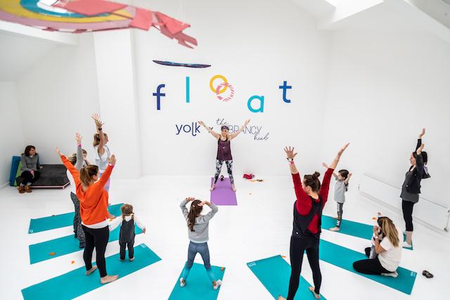 Float Festival   Yoga