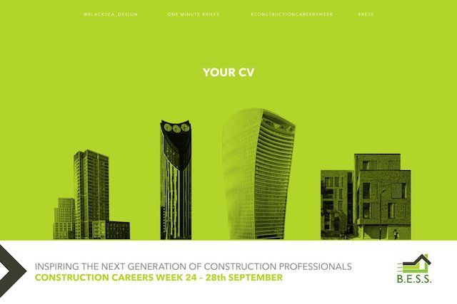 Build a CV you can visit, Black Tea Design @blacktea_design