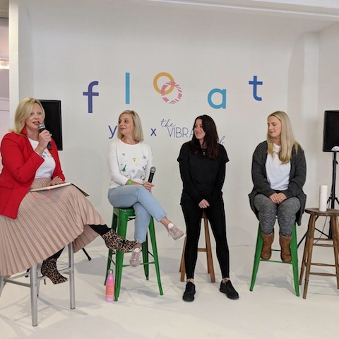 Float Festival: Self employment panel with Catherine, Girl Tribe Gang | Claire Gamble, Unhooked Communications | HannahCox, Betternotstop | Holly Wood, WeBlogNorth