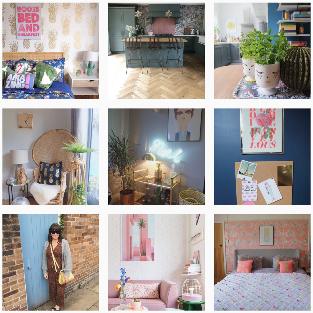 Home interiors lifestyle influencer marketing and blogger outreach from Unhooked Communications PR and marketing agency