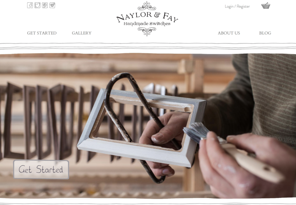 Unhooked Communications helps with PR and marketing for home accessories brand Naylor & Faye, which designs and makes bespoke switches and sockets