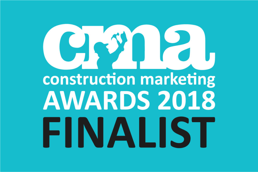 Construction Marketing Awards shortlist finalist 2018