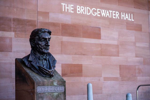 The Bridgewater Hall- the venue for Inspire Summit, a construction event that Unhooked Communications did the construction PR and marketing for