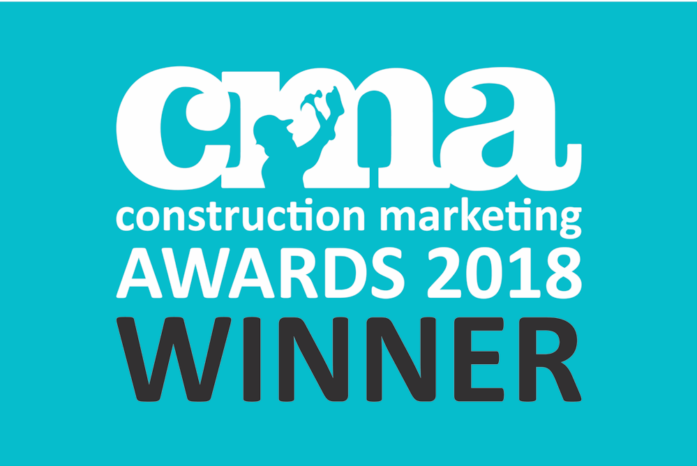 Construction Marketing Awards winner