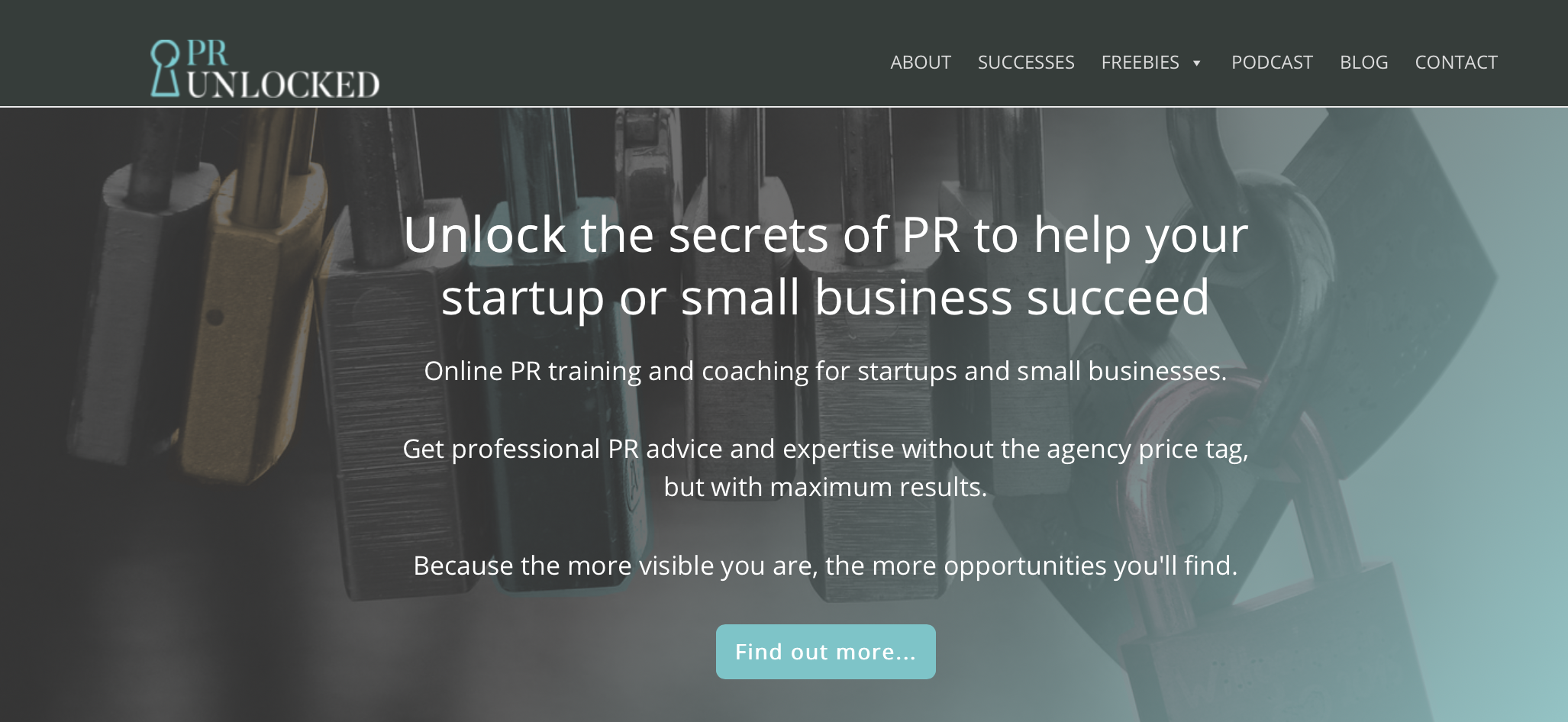 PR Unlocked online PR training for small businesses