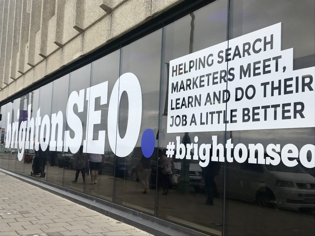 BrightonSEO 2019: The Brighton Conference centre where PR, SEO and digital marketing talks took place