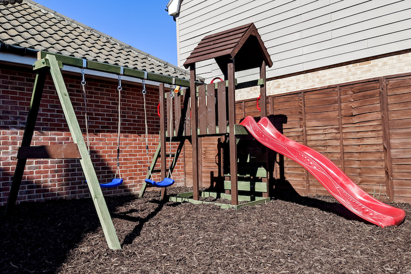 Sarah Anguish, family blogger at Boo Roo and Tigger Too, created a play area for her children in lockdown _ Unhooked Communications home interiors research